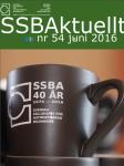 SSBAktuellt, juni 2016